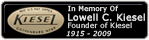 In Memory of Lowell C. Kiesel, Founder of Kiesel Guitars