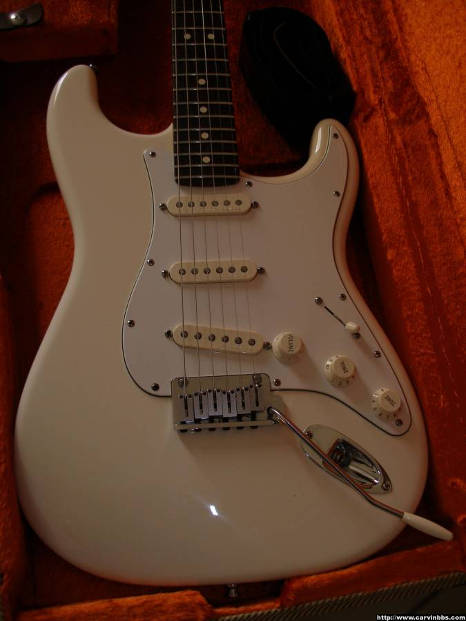 Will A Carvin Pre Wired Pickguard Fit On A Modern Fender