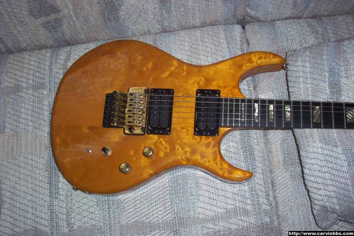 Vintage Yellow Carvin Owners Page 2 Kieselguitarsbbscom